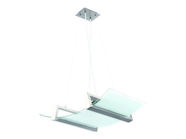 Lampa wisząca NEVA NIKIEL 2xE27 60W 12582 Alfa