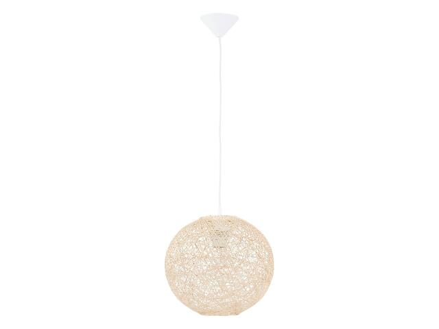 Lampa wisząca ABAKA 1xE27 60W 12604 Alfa