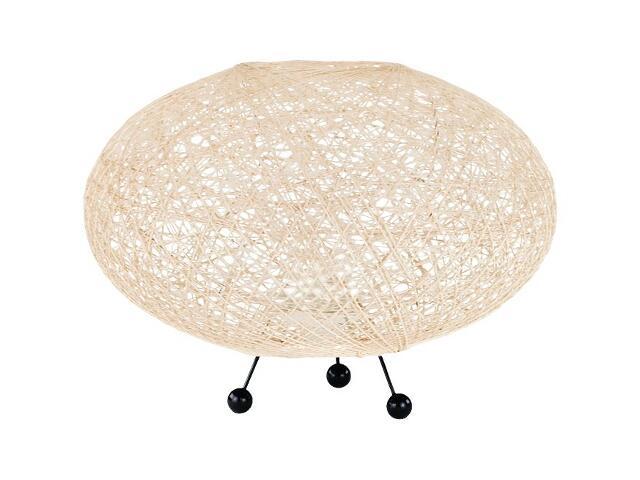Lampa stołowa ABAKA 1xE27 60W 12607 Alfa