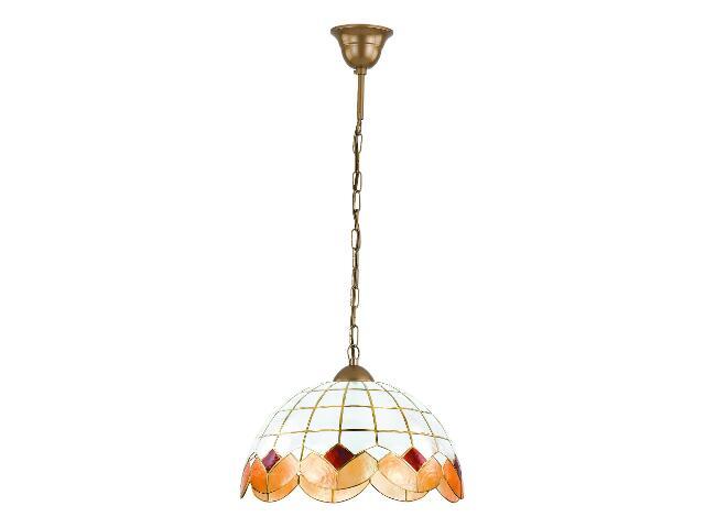 Lampa wisząca BUSTO 1xE27 60W 12632 Alfa