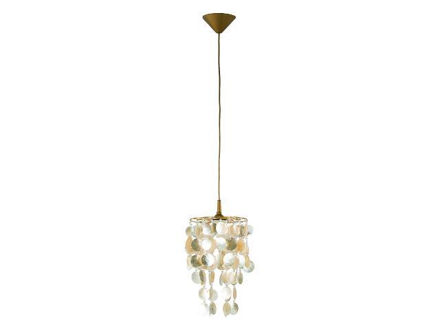 Lampa wisząca CONCHA 1xE27 60W 12668 Alfa