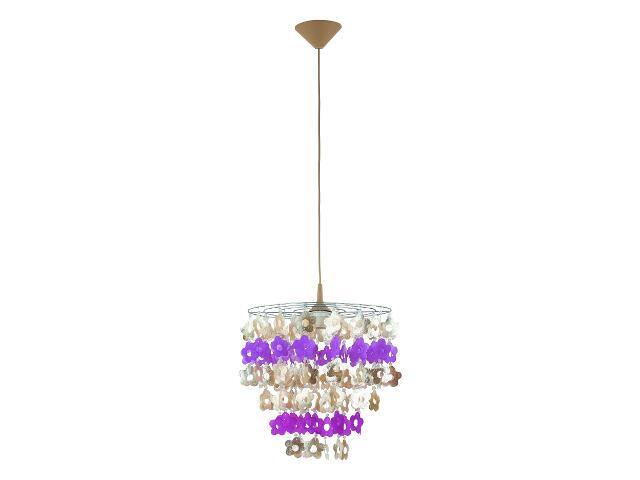 Lampa wisząca CONCHA 1xE27 60W 13817 Alfa