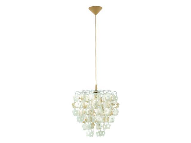 Lampa wisząca CONCHA 1xE27 60W 13818 Alfa