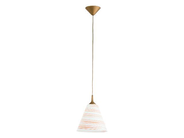 Lampa wisząca UNO 1xE27 60W 14153 Alfa