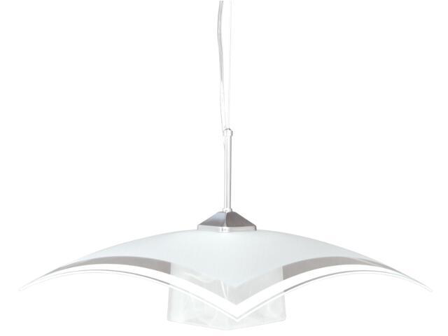 Lampa wisząca Vetro 1xE27 60W K-1520 ZK5-90 biała Kaja