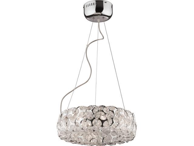 Lampa wisząca Frozen 8xG4 20W K-MA02084CC-8 Kaja