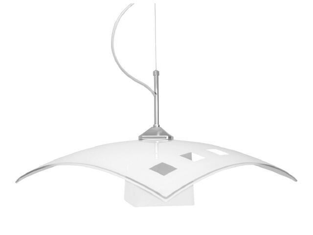 Lampa wisząca Trio white 1xE27 60W K-1520 ZK5-91 BIAŁY Kaja