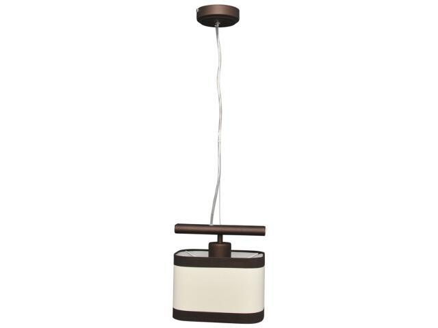 Lampa wisząca Selene 1xE27 60W K-2160 BRĄZ Kaja