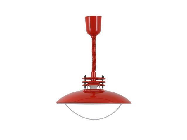 Lampa wisząca UFO czerwona 050/16 Nowodvorski