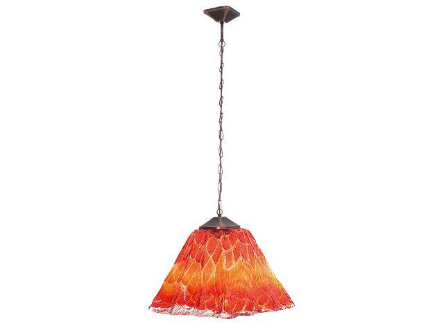Lampa sufitowa ETNA ROSSO maxi 1655 Nowodvorski