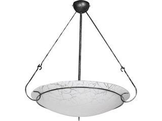 Lampa sufitowa OXEN cracks mała 2391 Nowodvorski