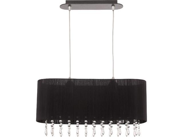 Lampa wisząca CORSICA czarna I zwis M 4522 Nowodvorski