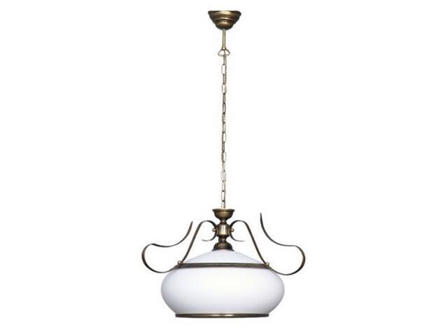 Lampa wisząca PATYNA VIII 1xE27 60W 493G Aldex