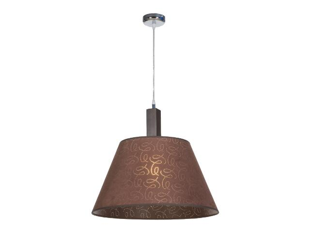 Lampa sufitowa Dubai3 1x75W E27 wenge Sanneli Design