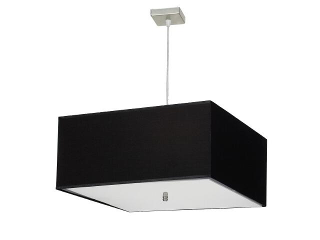 Lampa wisząca Lima3 3x60W E27 sufitowa satyna / czarna Sanneli Design
