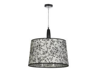 Lampa sufitowa Amsterdam2 1x75W E27 chrom / beż Sanneli Design