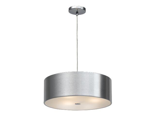 Lampa sufitowa Grenada2 3x40W E14 srebrna Sanneli Design