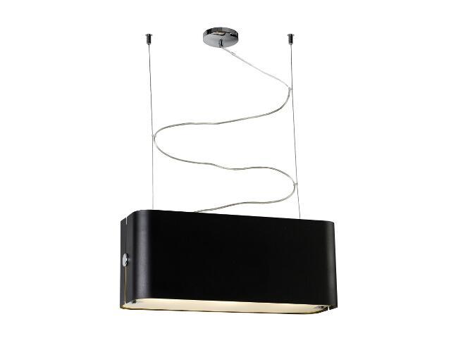 Lampa sufitowa Walencja1 3x100W E27 czarna Sanneli Design