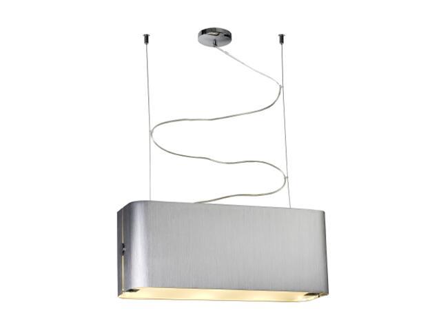 Lampa sufitowa Walencja2 3x100W E27 srebrna Sanneli Design