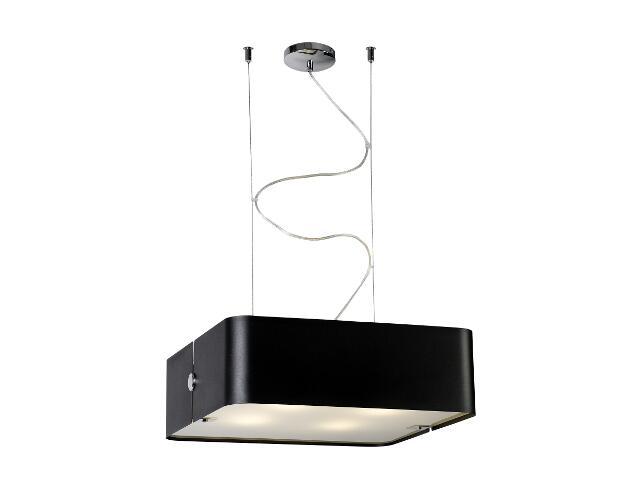 Lampa sufitowa Walencja1 4x100W E27 czarna Sanneli Design