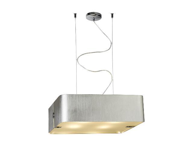 Lampa sufitowa Walencja2 4x100W E27 srebrna Sanneli Design