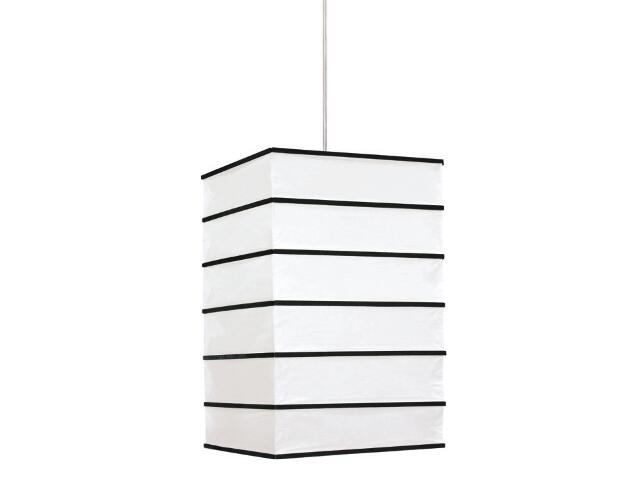 Lampa sufitowa Nara 1x60W E14 czarna Sanneli Design