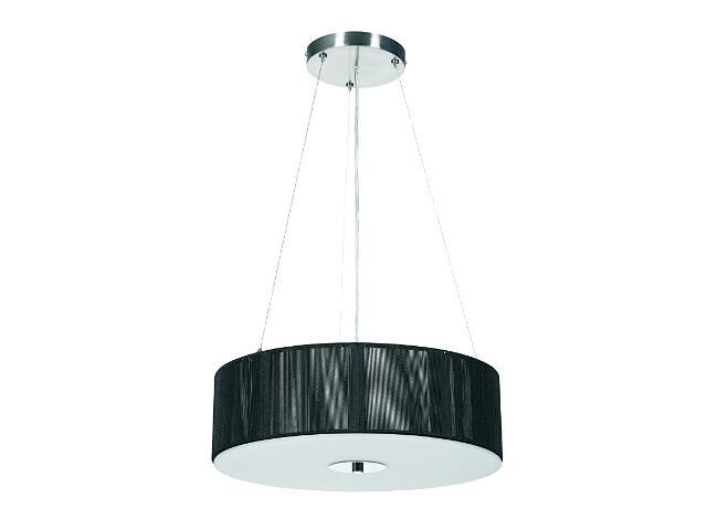 Lampa sufitowa Moon 3xE27 60W czarna Sanneli Design