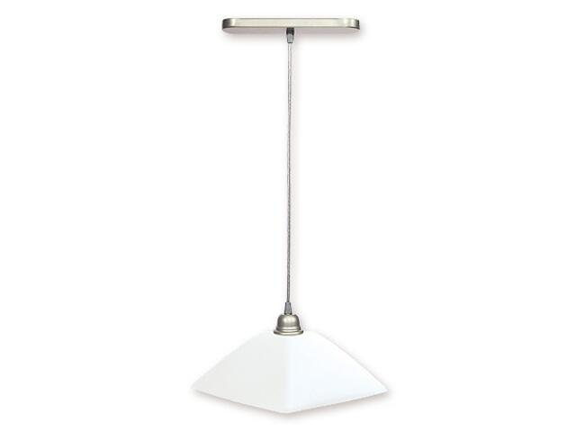 Lampa wisząca Kwadrat satyna 008/W1 SAT Lemir