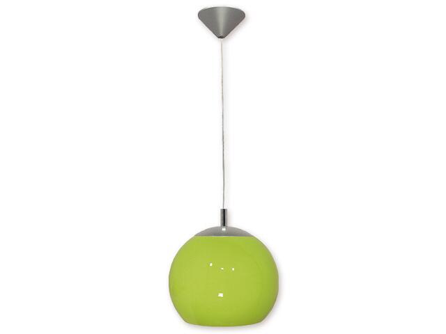 Lampa wisząca Kula 1-płomienna zielona 019/W1 K_4 Lemir