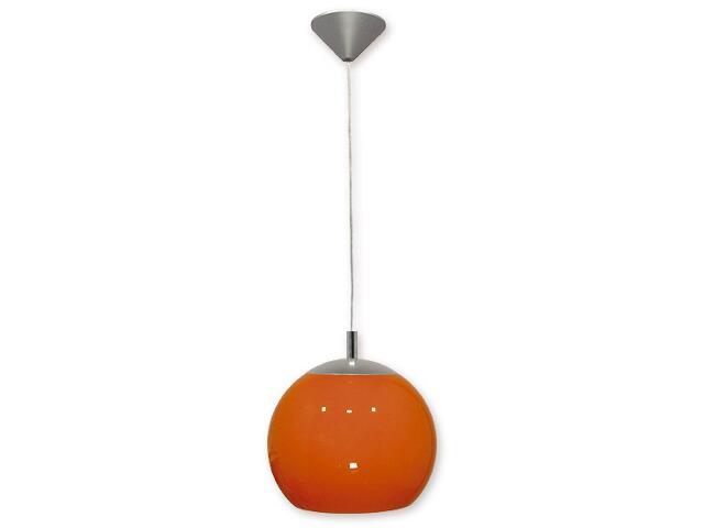 Lampa wisząca Kula 1-płomienna pomarańczowa 019/W1 K_6 Lemir