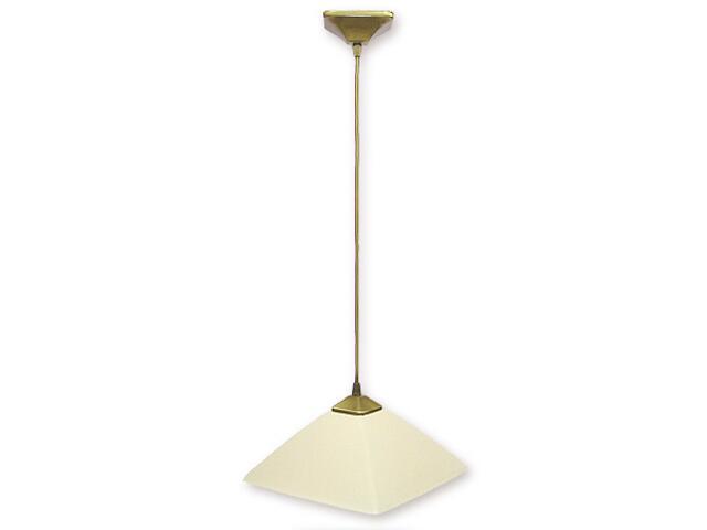 Lampa wisząca Krzyżak zwis 1-płomienny patyna 977/W1 Lemir