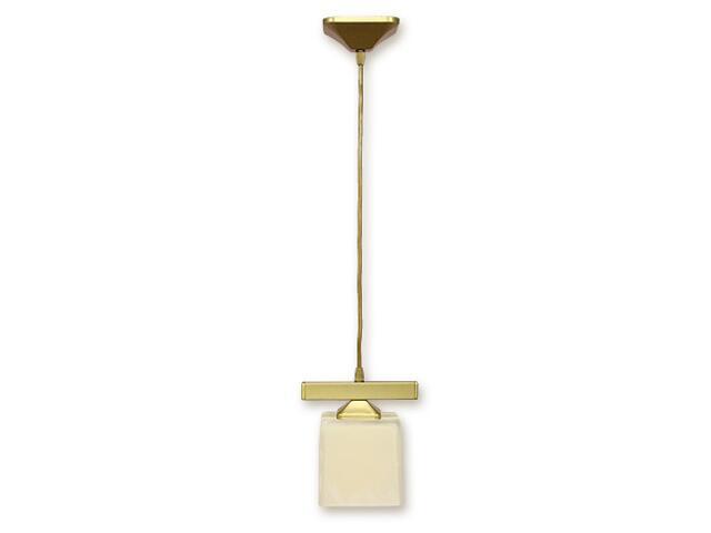 Lampa wisząca Kostka zwis 1-płomienny złoto O1067/W1 ZŁ Lemir