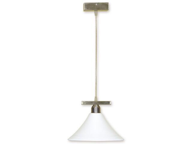 Lampa wisząca Lino zwis 1-płomienny nikiel O1167/W1 NK Lemir