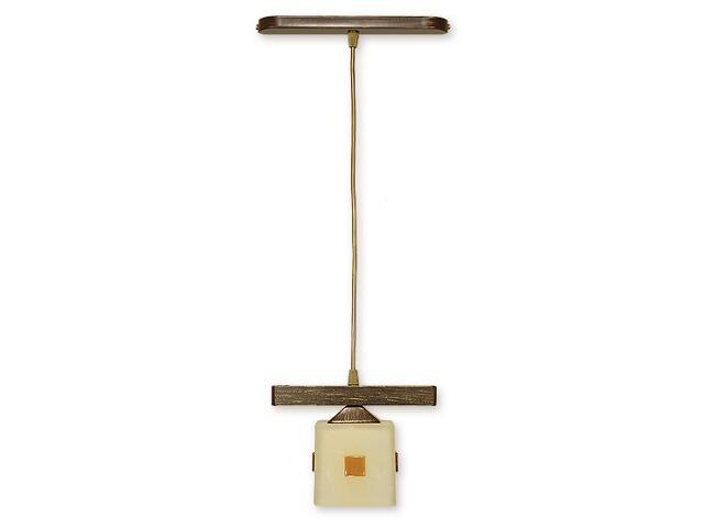 Lampa wisząca Morfeusz zwis 1-płomienny brązowy O1187/W1 BR Lemir