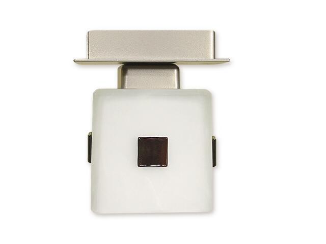 Lampa sufitowa Echo zwis 1-płomienny satyna O1197/W1 SAT Lemir