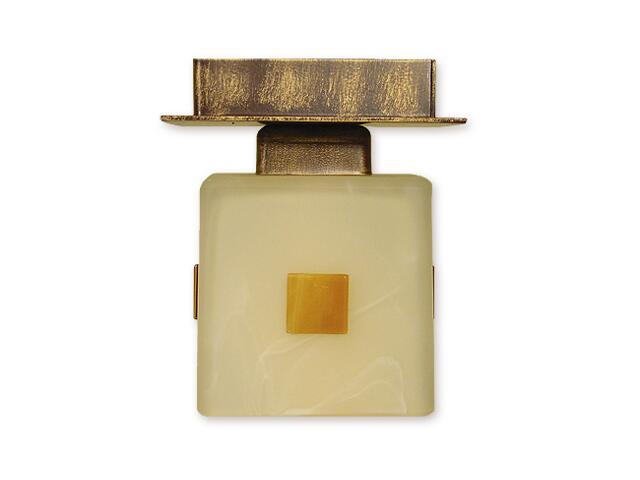Lampa sufitowa Echo zwis 1-płomienny brązowy O1197/W1 BR Lemir