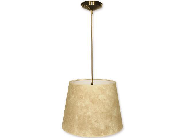 Lampa wisząca Stożek zwis abażur 1-płomienny oliwka O1200/W1 K_11 Lemir