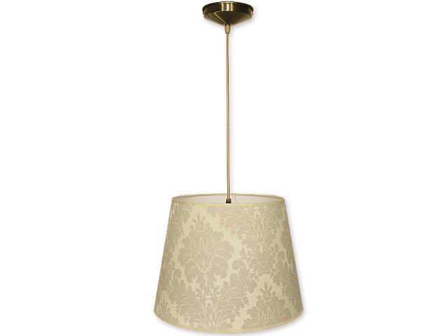 Lampa wisząca Stożek zwis abażur 1-płomienny oliwka O1200/W1 K_12 Lemir