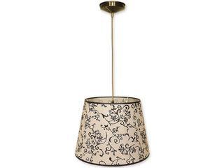 Lampa wisząca Stożek zwis abażur 1-płomienny oliwka O1200/W1 K_13 Lemir