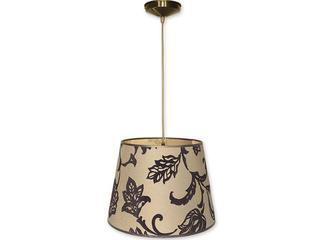 Lampa wisząca Stożek zwis abażur 1-płomienny oliwka O1200/W1 K_14 Lemir