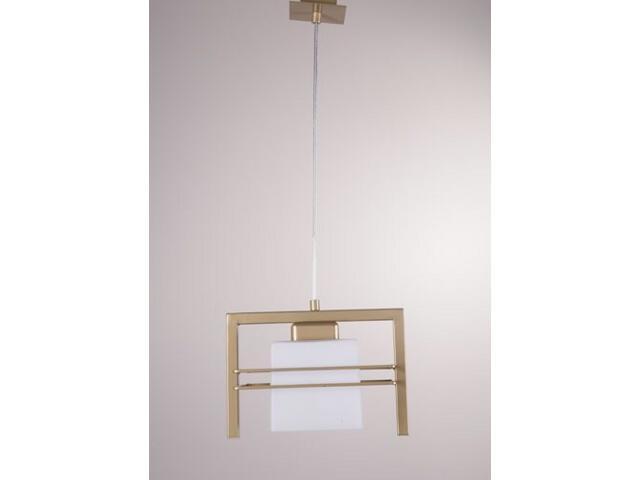 Lampa wisząca Aldo złota 1xE27 07708 Sigma