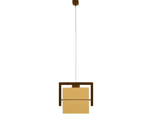 Lampa wisząca Toffi jasna 1xE27 09007 Sigma