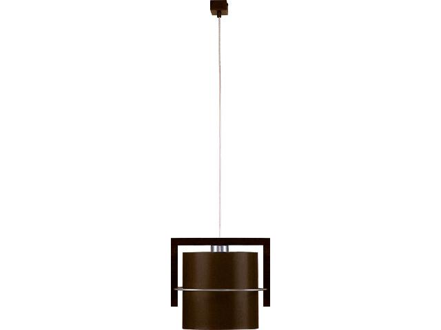 Lampa wisząca Toffi Due ciemna 1xE27 09108 Sigma