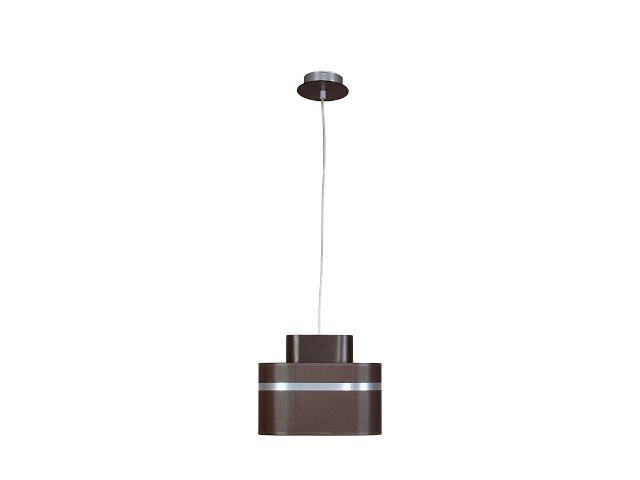 Lampa wisząca Largo wenge 1xE27 12204 Sigma