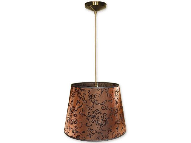 Lampa wisząca Stożek zwis abażur 1-płomienny oliwka O1200/W1 K_15 Lemir
