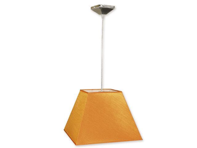 Lampa wisząca Topaz zwis abażur 1-płomienny nikiel O1201/W1 K_11 Lemir