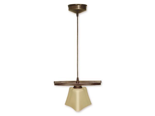 Lampa wisząca Magna zwis 1-płomienny brązowy O1247/W1 BR Lemir