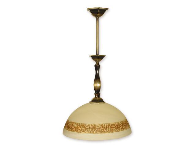 Lampa wisząca Parys zwis 1-płomienny patyna 987/W1 Lemir