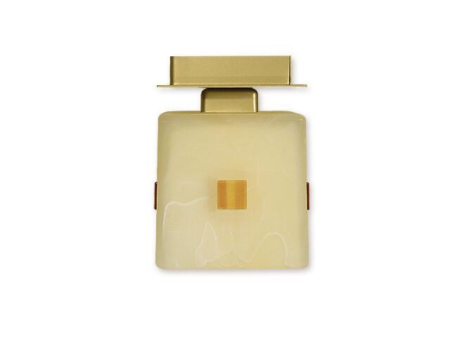 Lampa sufitowa Zeto zwis 1-płomienny złoty O1217/W1 ZŁ Lemir