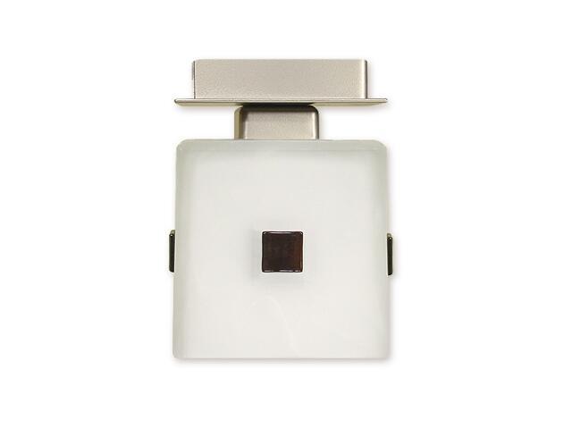 Lampa sufitowa Zeto zwis 1-płomienny satyna O1217/W1 SAT Lemir